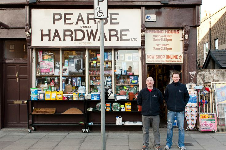 James Alden & Clive O'Reilly Pearse Hardware, Pearse St, Dublin 2