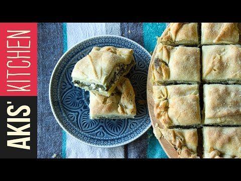 Spanakopita - Spinach and Feta Cheese Pie | Akis Petretzikis