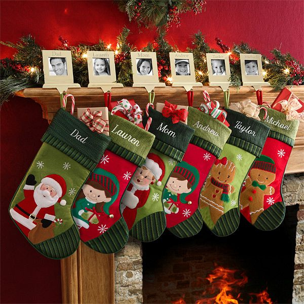 6316 - Christmas Family Personalized Stockings