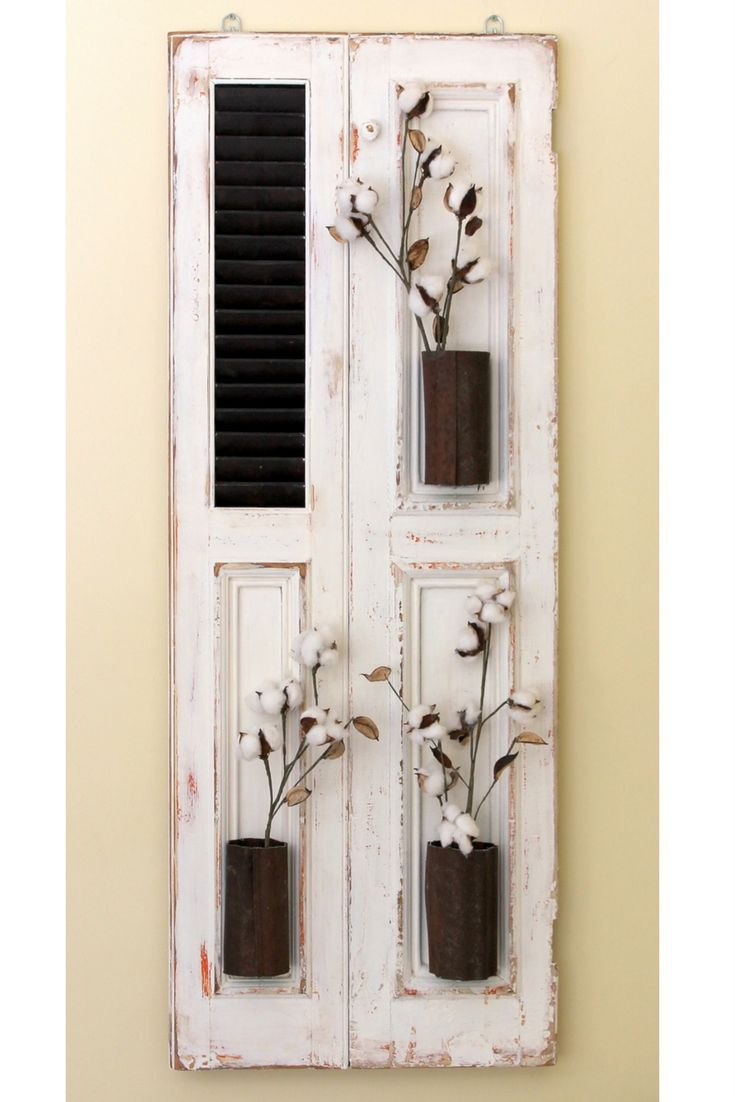 17 best ideas about old shutters decor on pinterest - Decorative interior wall shutters ...
