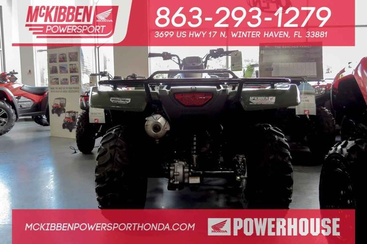 New 2017 Honda FourTrax Rancher ATVs For Sale in Florida.