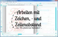 Plotter-Anleitung: Hier wird gezeigt, wie man ganz einfach Sätze & Buchstaben in der Silhouette Software bearbeiten kann.