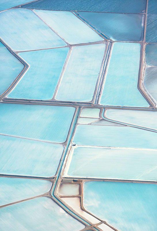 澳大利亚盐田航拍照令人叹为观止_时尚_腾讯网