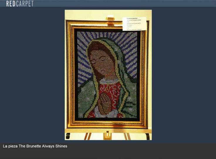 La virgen de Guadalupe de Mister Bling, en la exposición #Shine en México