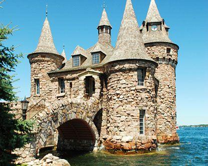 Bolt Castle, Thousand Islands, NY```