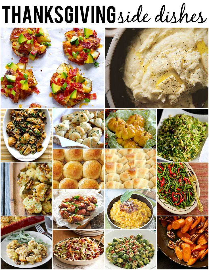35 Thanksgiving Side Dishes #thanksgivingrecipes