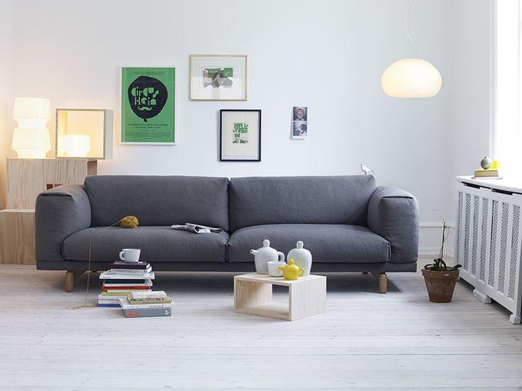Sofá Rest, Por Anderssen U0026 Voll Para A Muuto New Nordic. Rest Sofa By  Anderssen U0026 Voll For Muuto New Nordic.