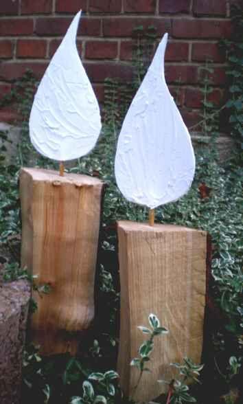 Holzkerzen - natürlich schön