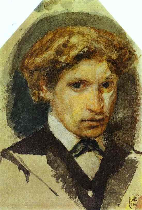 Self Portrait - Mikhail Vrubel