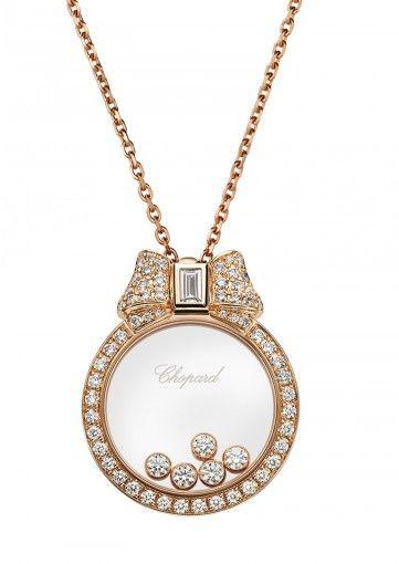 Chopard | Happy Diamonds Icons Pendant - 18k rose gold and diamonds | 795020-5301