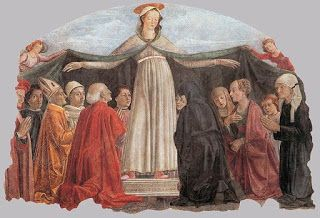 """Maria de Mercede , fresco by Domenico Ghirlandaio , ca1472    The 24th of September is the feast day of Our Lady of Ransom. The Feast of Our Lady of Ransom (Nuestra Señora de la Merced) is a Roman Catholic liturgical Marian feast. In the General Roman Calendar of 1960, it was celebrated on 24 September, commemorating the foundation of the Mercedarians. After Vatican II the name for the Marian commemoration on September 24 was changed to """"Our Lady of Mercy""""."""