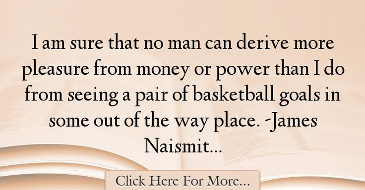 James Naismith Quotes About Power - 57350