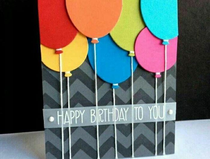 La plus jolie carte d'anniversaire en 52 variantes   vidéo!