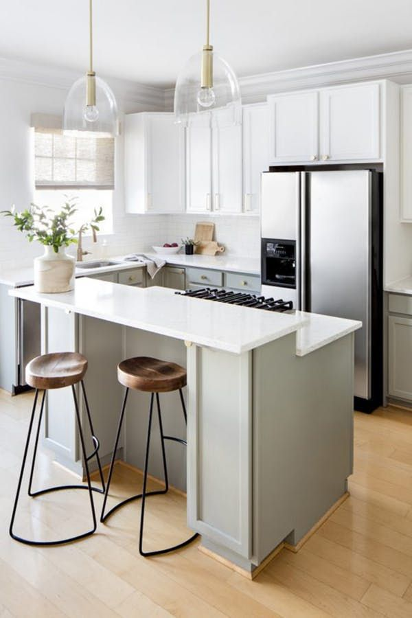The One Trick For An Infinitely Prettier Kitchen. Kitchen Island With  StoveIsland ...