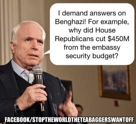 REPUBLICANS NEED TO QUIT BLAMING + ASK....WHY THE GOP IS CUTTING FUNDS FROM EMBASSY SECURITY!!