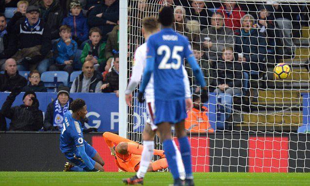 Leicester 1-0 Burnley: Demarai Gray's strike seals win