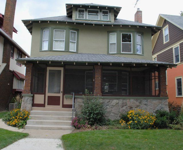 11 Best American Foursquare Images On Pinterest