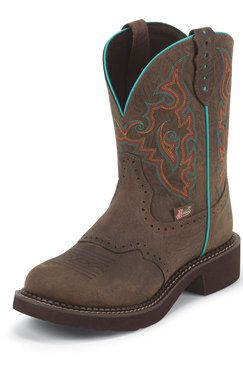 Justin Gypsy Women's Barnwood Brown Cowgirl Boots