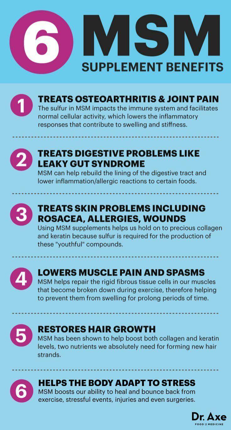 6 MSM supplement benefits