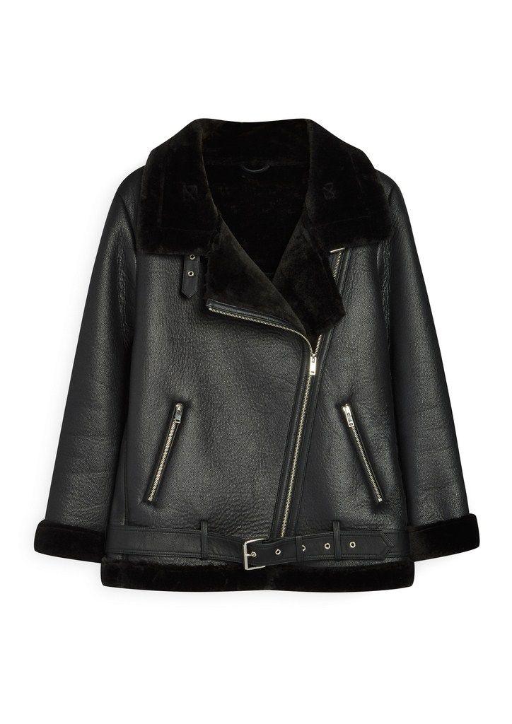 Black leather jacket, Primark. AW 2017/2018 Trends