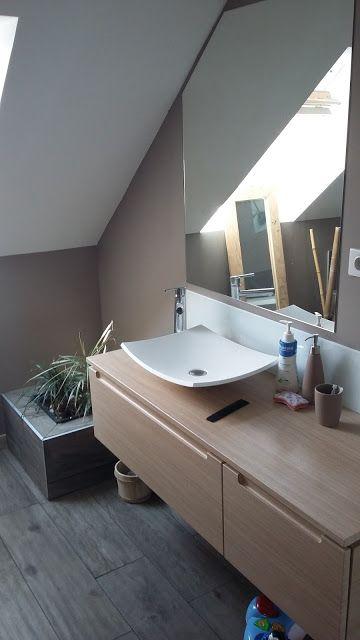 62 best Salles de bain images on Pinterest Bathroom, Half