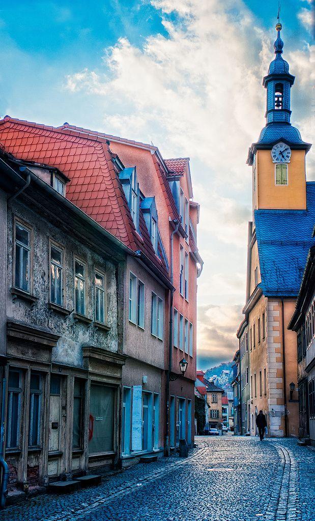 Town of Rudolstadt, Germany