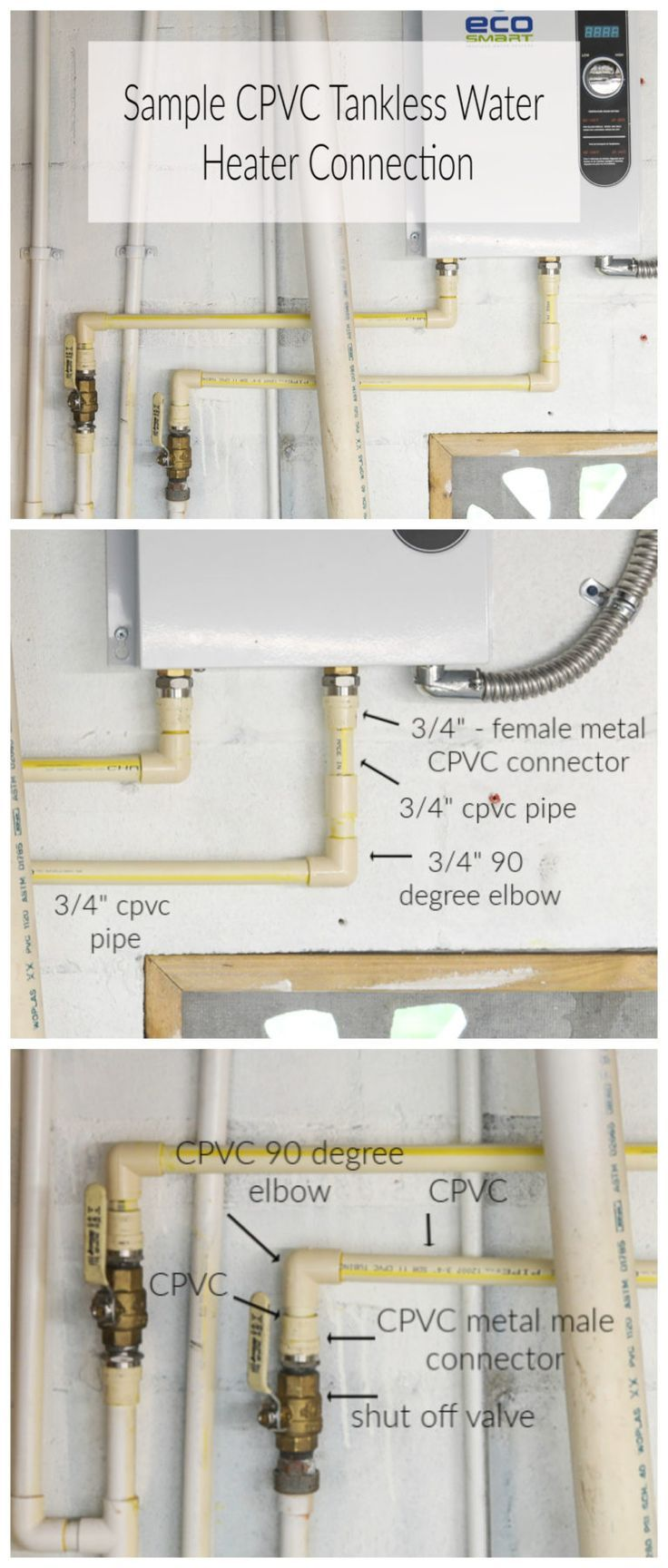 How To Install A Tankless Water Heater Tankless Water Heater