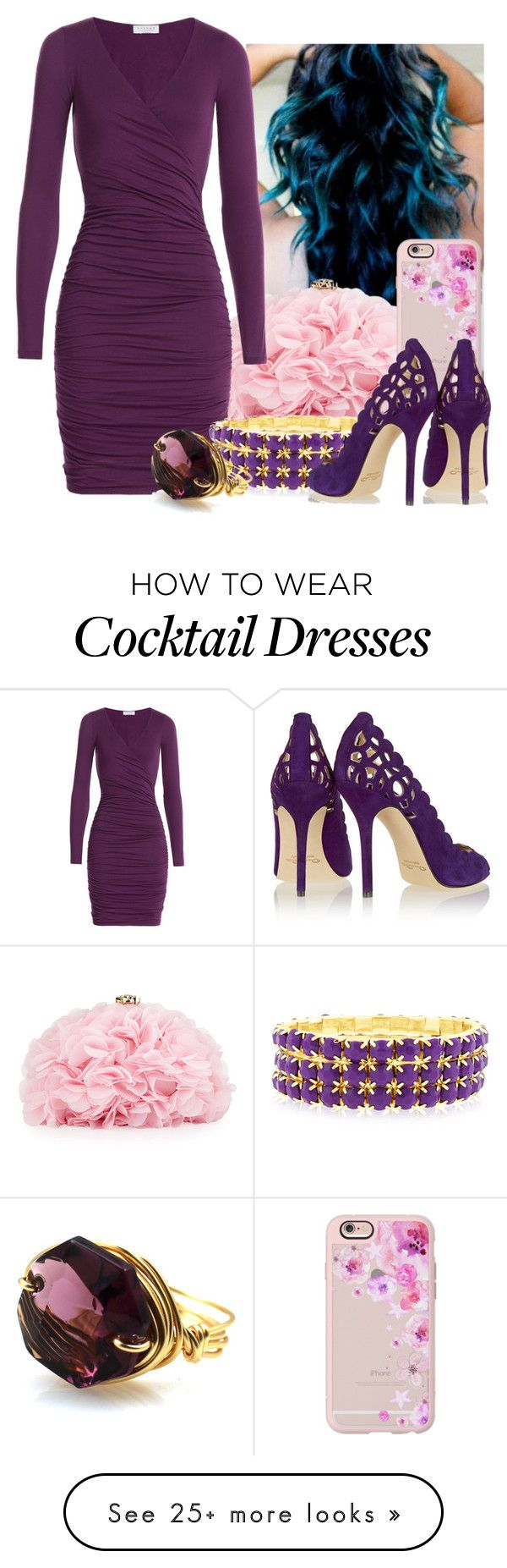 """<3<3<3"" by maiiira-nair on Polyvore featuring Betsey Johnson, Velvet, Casetify and Oscar de la Renta"