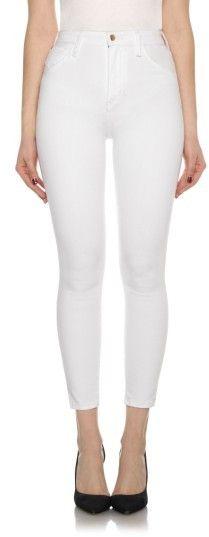 Joe's Jeans Women's Bella High Waist Crop Skinny Jeans
