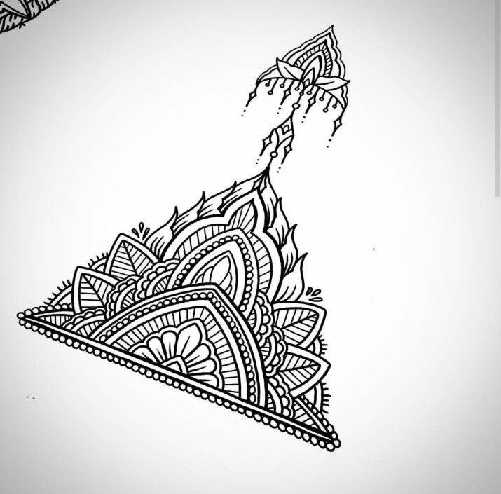 25+ Bästa Mandala Wrist Tattoo Idéerna På Pinterest