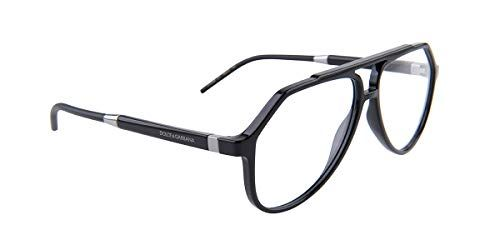 aeabb483eb0 Dolce   Gabbana Mens Eyeglasses D G DG5038 DG 5038 501 Black Optical Frame  56mm