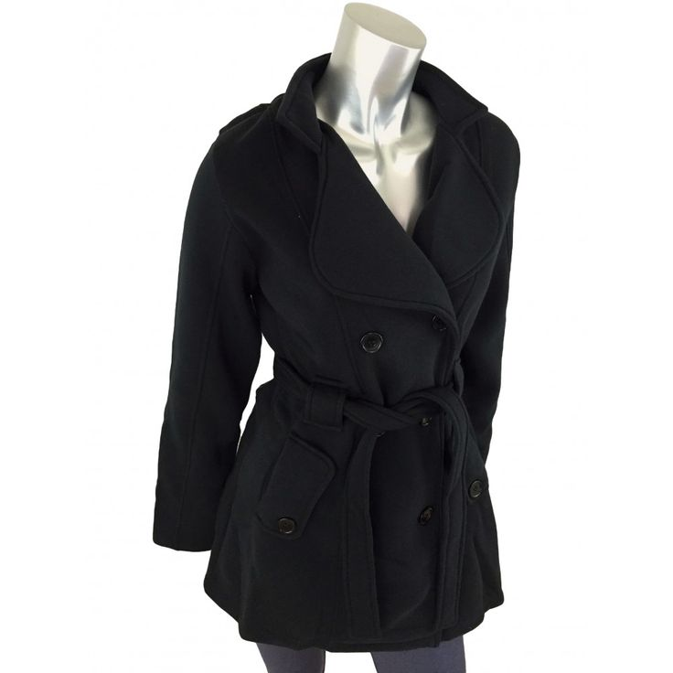 Caroline Morgan Black Button Jacket