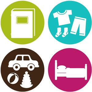 Silhouette Online Store - View Design #8533: chore chart icons set 3