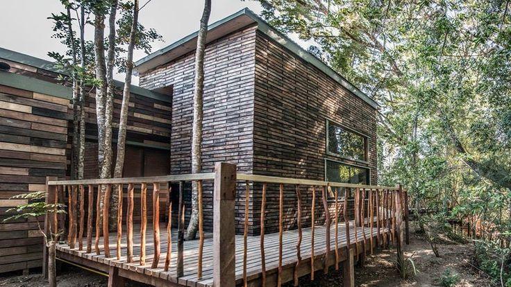 Cabaña Coigue, #construcciones sustentables #puerto varas #reciclaje #maderas recicladas #spa