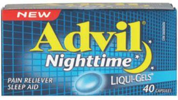 FREE Advil Nighttime Liqui-Gels Sample on http://www.canadafreebies.ca/