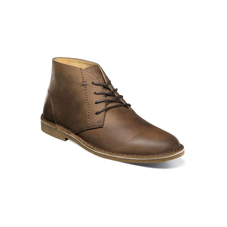 Nunn Bush Galloway Men's Leather Chukka Boots, Size: medium (11.5), Lt Brown