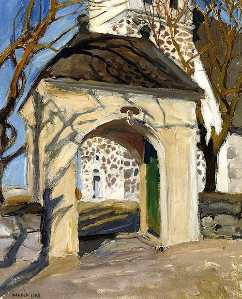 AKSELI GALLEN-KALLELA Raumo Church (1905)