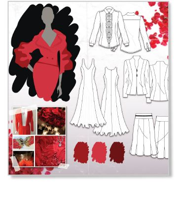 What Is A Fashion Storyboard A good example of a fashion