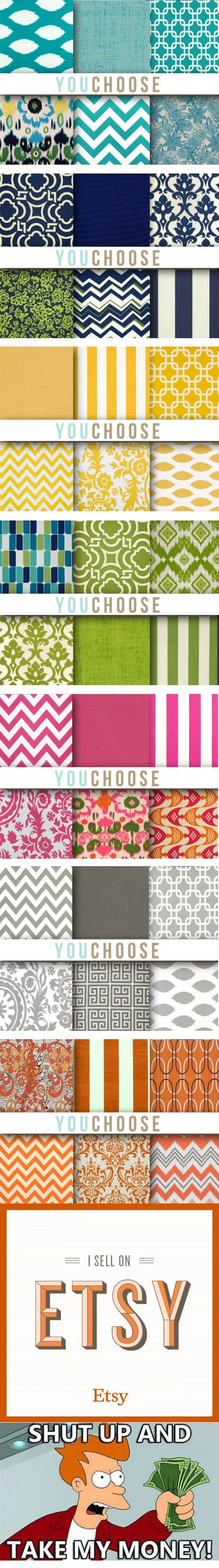 great inspiration for mixing fabrics