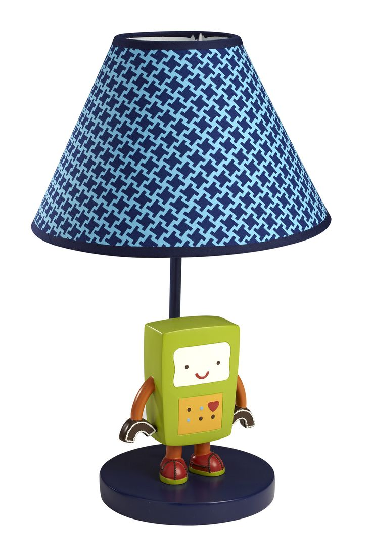 Baby Bot Table Lamp with Empire Shade