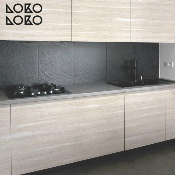 Mejores 114 im genes de vinilos para muebles de cocinas en - Forrar azulejos cocina ...
