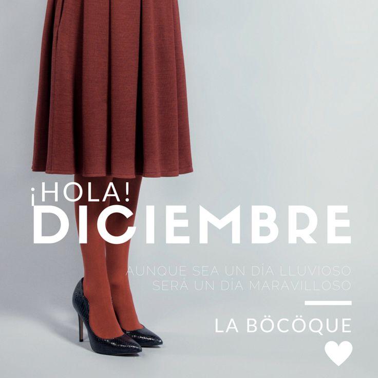 Aunque sea un día lluvioso será un día maravilloso. #invierno #refrán #Hola #Diciembre. #Winter is coming. #Bienvenido #Diciembre. #Hello #December. #Welcome #December. #LaBöcöque