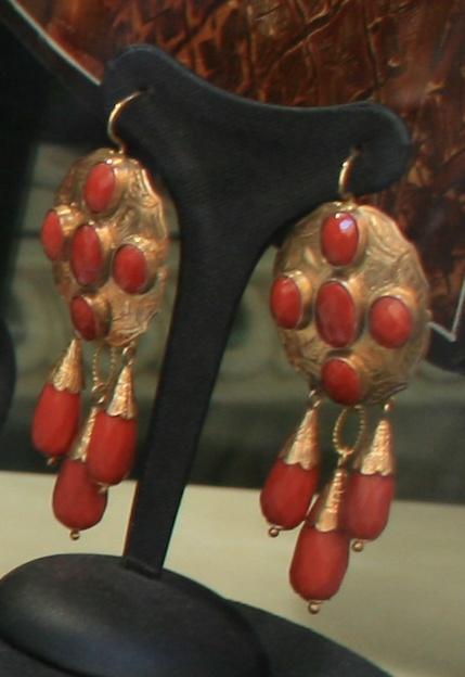 Vintage Coral Earrings
