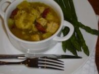 Chicken stew with dumplings   Destitute Gourmet