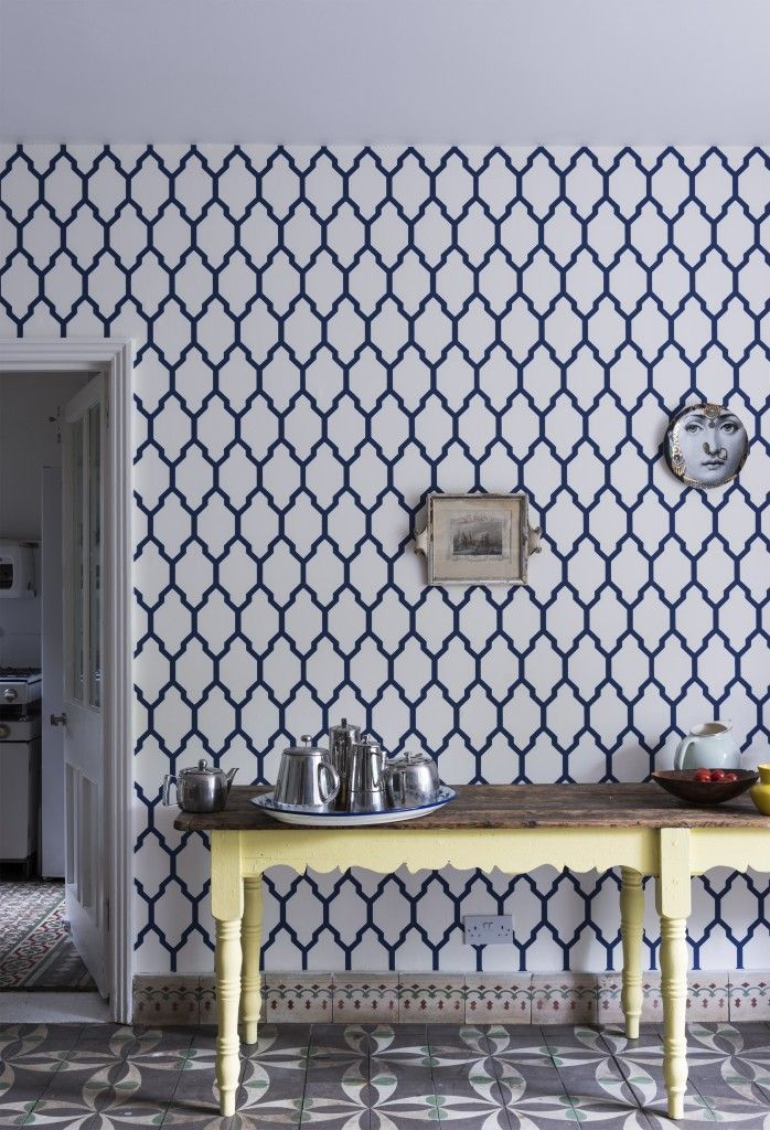 Farrow And Ball Wallpaper Trellis Comes In Other Colours