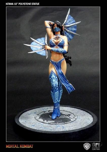 Mortal Kombat Enchanted Warriors statuette Kitana 25 cm    Statuette en résine taille env. 25 cm sur socle logo. Modèle fini et peint à la main en édition limitée à 888 exemplaires numérotés.   Disponibilité prévue : Avril 2013