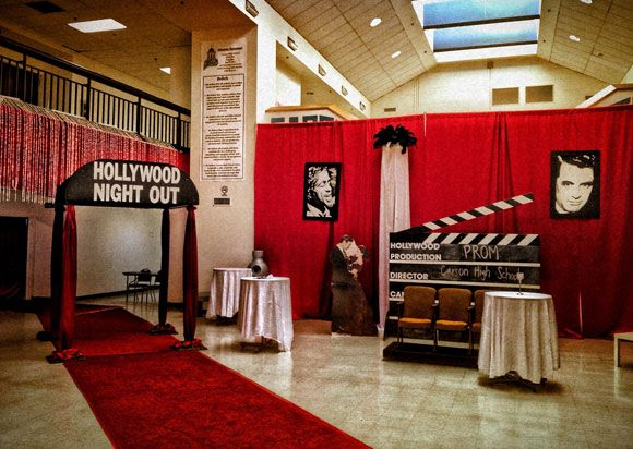 Party ideas for a Hollywood-themed bar mitzvah • Bar & Bat Mitzvah Guide