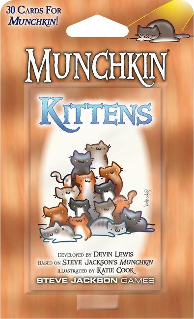 Munchkin ist ein verrücktes lustiges Spiel. Kätzchen sind bezaubernd. Perfekte Übereinstimmung.   – Munchkin
