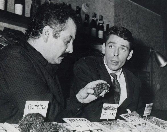 Jacques Brel  et Georges Brassens