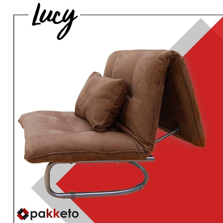Δεν είναι άλλος ένας καναπές-κρεβάτι. Είναι η Lucy και εκτός από μοντέρνα, είναι πολύ βολική! Ανακαλύψτε την εδώ: http://bit.ly/pakketoPoluthronaLucy